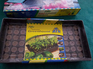Greenhouse with  peat pellets 72  I have 3 boxes of them