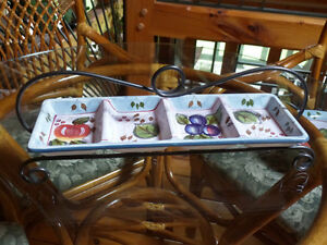 Black Forest Fruit by Heritage Mint - serving sets - great gift Sarnia Sarnia Area image 4