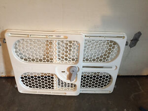 Baby gate used for dog