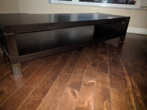 Ikea LACK TV Bench (Black-brown)