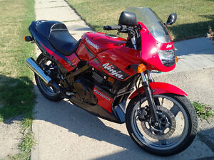 2002 Kawasaki Ninja EX500 * Low KM well cared for MINT*