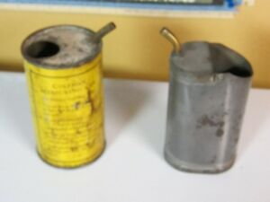 set of Coleman filling cans