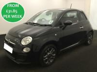 £138.01 PER MONTH Fiat 500 2014 1.2S HATCHBACK PETROL MANUAL
