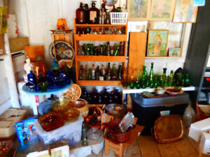 Coloured Glassware of all shapes and sizes for sale