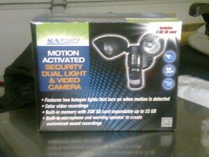motion light with camera