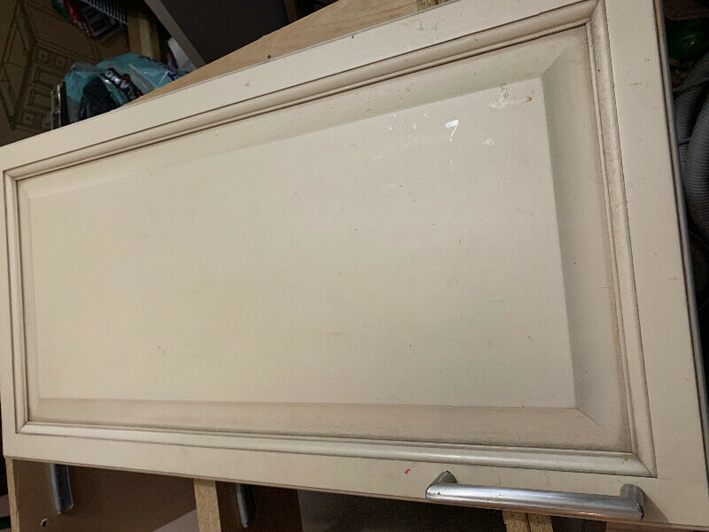 Old Canac kitchen cabinets, solid maple doors | Cabinets ...