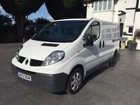 Renault traffic/vivaro Swb 2012 reg 113bhp white diesel 117kmls £4995no vat