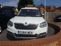 2014 Skoda Yeti Outdoor 2.0 TDI CR ( 110ps ) 4X4 high spec SE, 1 Owner, FSH
