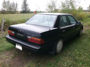Awesome Nissan Stanza winter car for only $500
