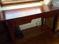 Antique mahogany solid wood study table