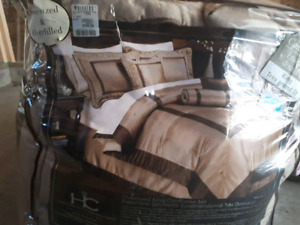 KING comforter 7 piece set