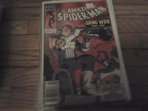Amazing Spiderman 284 - 288 Gang War