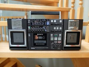 WANTED:SONY CFS9000 or CFS9900  BOOM BOX GHETTO BLASTER!1984-86