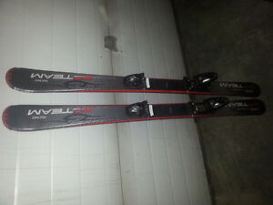 120 cm kids downhill skis like new