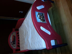 Cars toddler bed comes with mattress Strathcona County Edmonton Area image 2