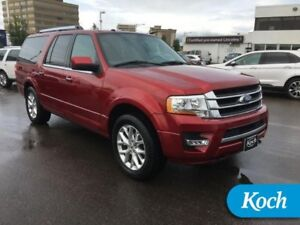 2016 Ford Expedition Max Limited  8-Pass, BLIS, Moonroof, Nav, L