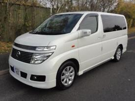 2004 Nissan Elgrand 3500 XL TOP SPEC 4WD LEATHER S/ROOFS 5dr
