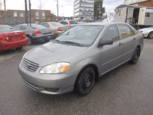 2004 Toyota Corolla CE automatic 2 sets of tires and rims