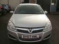 VAUXHALL ASTRA 1.4 CLUB 5 DR 2007/07 ONLY 76K