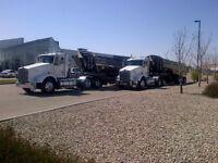 Looking for Gravel or Sand Hauling work for my Gravel Trucks