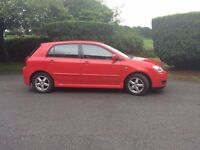 2005 Toyota Corolla 1.6 T3 VVTi (long MOT) PRICE LOWERED