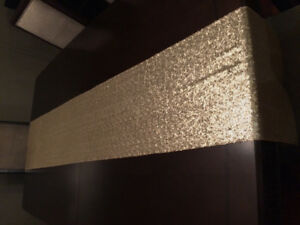 13 Gold Sequin Table Runners