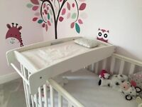Mamas and papas cot top changing table - ivory