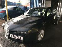 Alfa Romeo 159 2.2JTS Turismo 4 DOOR - 2007 07-REG - 7 MONTHS MOT