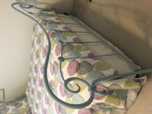 Queen headboard and footboard option:mattress - DELIVERY TODAY
