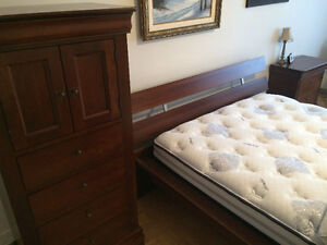 MOBILIER CHAMBRE A COUCHER STYLE LOUIS PHILIPPE