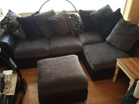 Marrakesh Right Hand Corner Sofa and Footstool