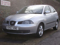 Seat Ibiza 1.2 12v Reference 2008(57) 5 Door Hatchback