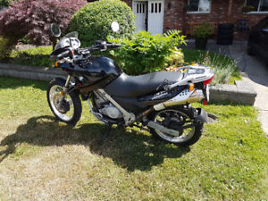 BMW F650GS Motorcycle (2007)