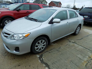 2013 Toyota Corolla Sedan $ 11,900.00 Call 743-2551