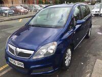 Vauxhall zafira 1.6 petrol club 7 seats great drive cheepest car full history