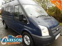 2013 Ford Transit 350 Medium wheelbase 125ps, big spec, tradesman ready