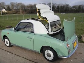 Nissan Figaro Convertible 1991, 66K Miles REDUCED PRICE