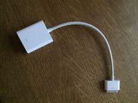 Apple ipad/phone 30 pin to VGA cable (genuine)
