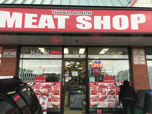 Halal meat and grocery store business for sale in Mississauga