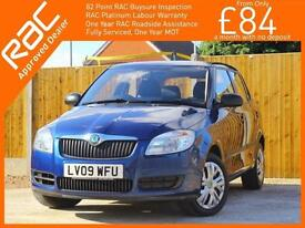2009 Skoda Fabia 1.2 HTP 5 Door 5 Speed Air Conditioning Just 1 Private Owner On