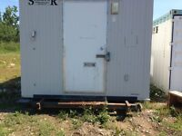 10 x 20 Job Shack Skidded  / 8 x 40 steel office