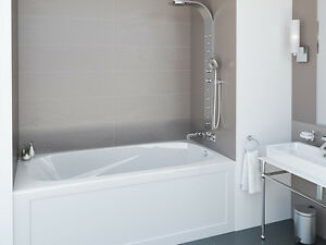 MIROLIN Phoenix TUB on SALE: Skirted Bath Soaker **FREE DELIVERY