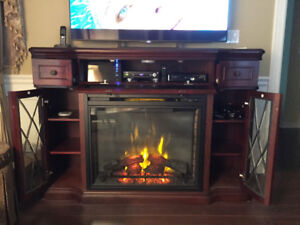 TV, Napoleon electric Fireplace for sale