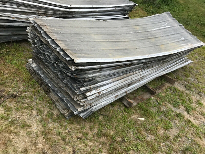 Used Galvalume Metal Roofing Various Sizes Barn Shed