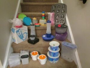 Huge Tupperware lot - all brand new!