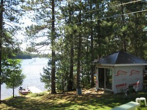 4 season Camp/2bdrm house on Lac Argentier, near Ville-Marie, QB