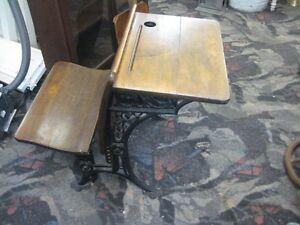 Beautiful Antique Child's School Desk