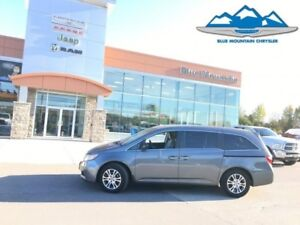 2011 Honda Odyssey EX  ACCIDENT FREE, LOCAL TRADE, DVD!!!