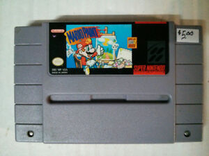 Super Nintendo SNES video gameMario Paint$5