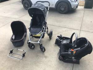 Peg Perego Primo Viaggio and Uppa Baby Vista Package